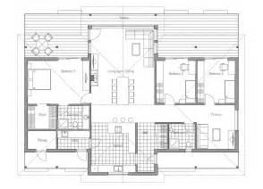 modern house plan modern house ch86 floor plan images house plan