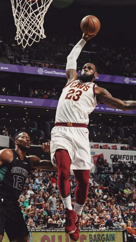 lebron james dunking wallpapers  background pictures