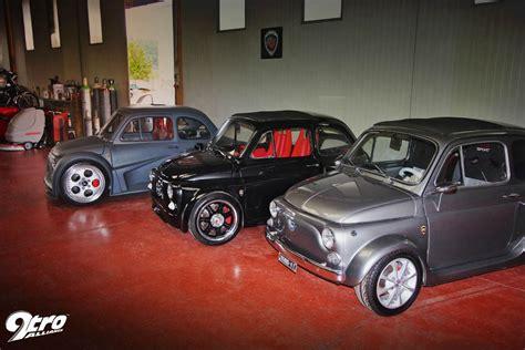 Fiat Lamborghini by Fiat 500 Met Lamborghini Motor Grijs Fiat 500 Met