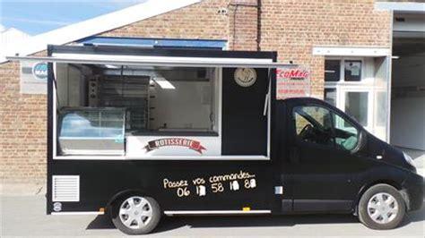 camion cuisine mobile commerce ambulant camions remorques matériel forain en