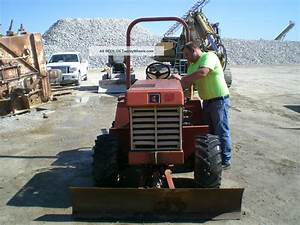 Ditch Witch 3500 Trencher  Diesel  4x4  1526 Hrs