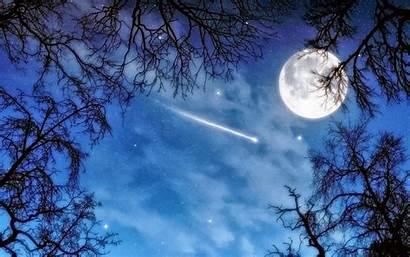 Sky Night Desktop Backgrounds Wallpapers Star Shooting
