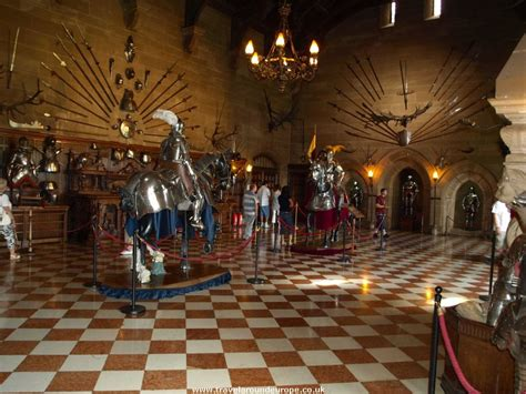 Warwick Castle Interior - all things bright and beautiful in honor of the happy