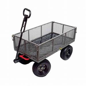 Gorilla Carts 1200 Lb Steel Multi Use Dump Cart GORMP 12