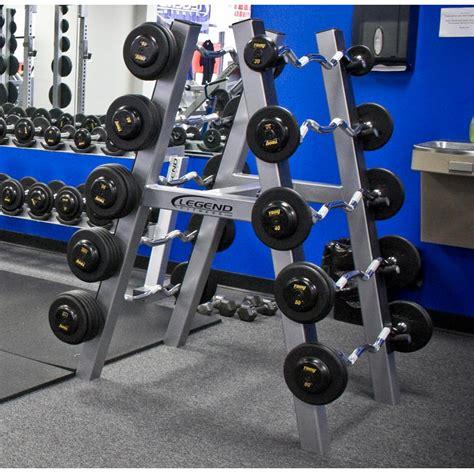 legend fitness  pair barbell rack