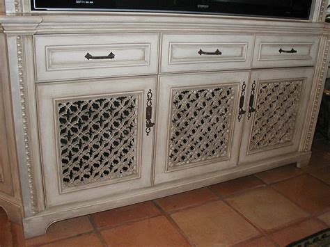 Villa Inspired Custom Painting And Finishes Cabinetry
