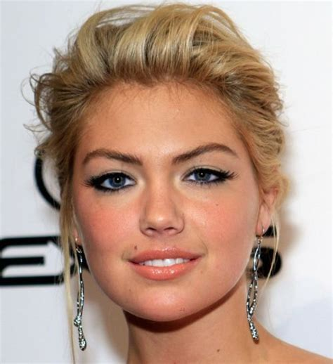 Kate Upton Blonde Updo   Wedding, Formal, Awards