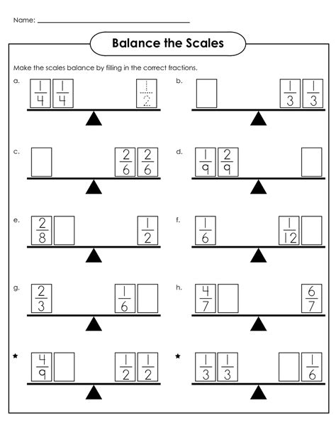 Balance Scale Worksheets For Children  Activity Shelter