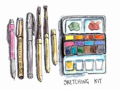 Sketching Urban Beginners Guide Kit Practical Start