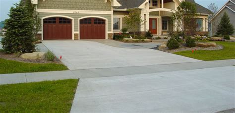 how much to get driveway paved concrete driveway grand rapids driveway paving contractors nobel concrete west michigan