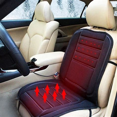 heated car seat covers  car stuff