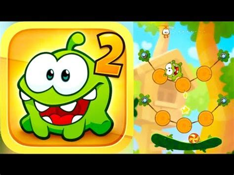 cut the rope 2 walkthrough part 1 iphone gameplay