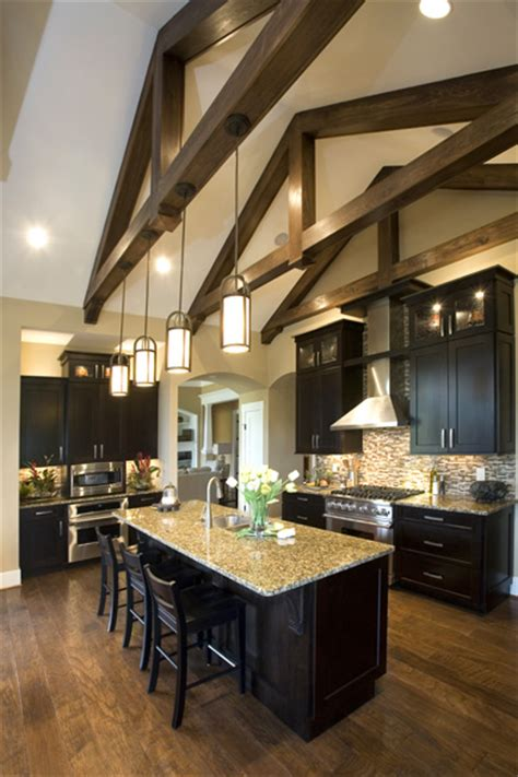 kitchen lighting vaulted ceiling kimberly ann homearama