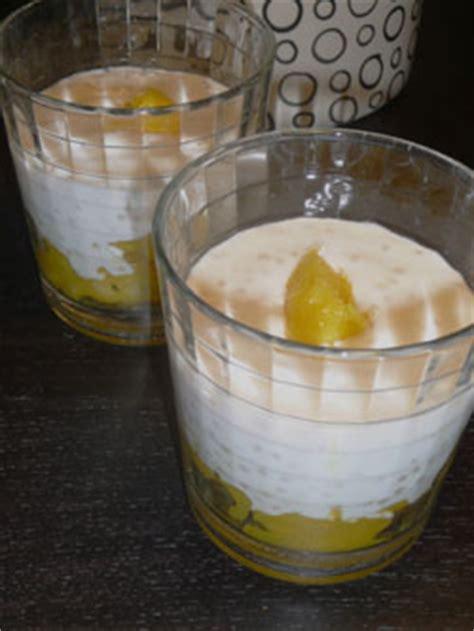 dessert thai lait de coco verrine de tapioca au lait de coco et 224 la mangue dessert tha 239 la table verte