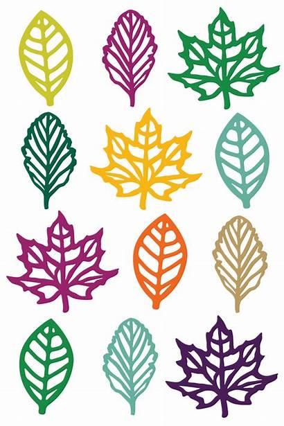 Clip Fall Leaf Clipart Quilt Svg Cut