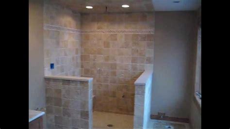 limestone travertine tile master bathroom