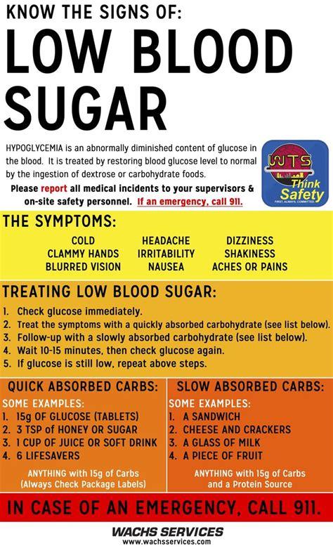 signs   blood sugar safety pinterest