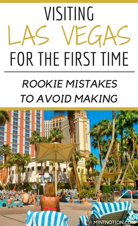 visiting las vegas for the first time rookie mistakes to