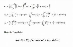 Fourierreihe Berechnen : fourier plotten einer fourier reihe mathelounge ~ Themetempest.com Abrechnung