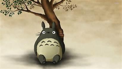 Totoro Background Neighbor Wallpapers Desktop Iphone Wallpapertag