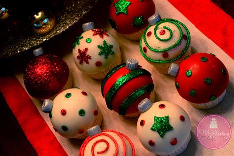 ornament cupcakes tutorial mcgreevy cakes