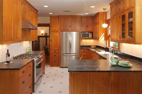 bungalow kitchen craftsman kitchen minneapolis