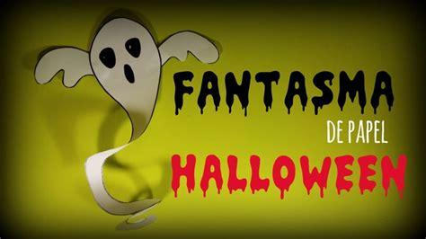 Fantasmas de papel para decorar tu fiesta de Halloween