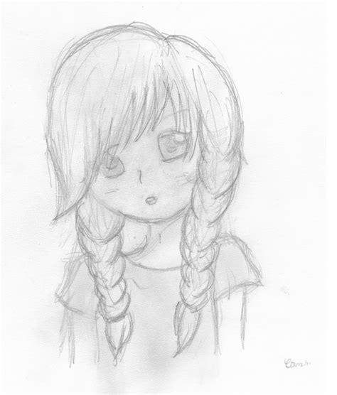 dessin facile fille dessin simple d une fille
