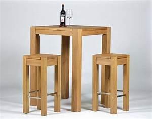 Barhocker Mit Tisch : hochtisch rio bonito 80x80x110 2 barhocker 35x35 cm pinie honig hell ~ Whattoseeinmadrid.com Haus und Dekorationen