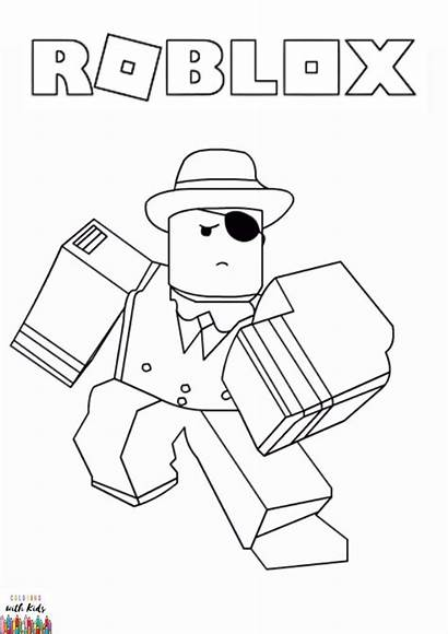 Roblox Coloring Pages Boys Sheets Avatar Drawing