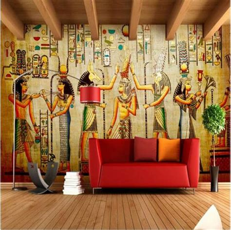 egypt wallpaper large photo murals retro european people