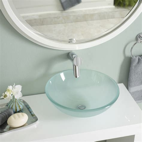 vessel sinks pros and cons bathroom sinks ideas peenmedia com