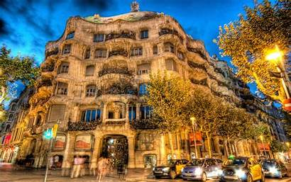 Barcelona Spain Building 4k Wallpapers Background Architecture
