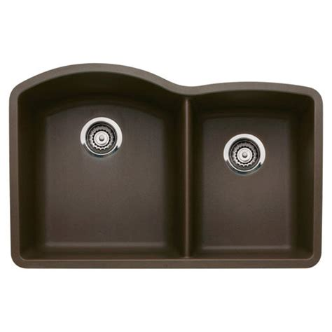 blanco granite kitchen sink blanco 440177 1 3 4 bowl silgranit ii undermount 4777