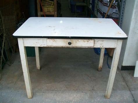 antique black kitchen table vintage black white enamel hossier kitchen table ebay