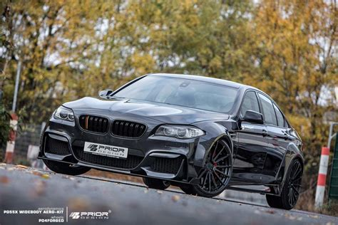 the f10 5 series goes widebody bmw news at bimmerfest