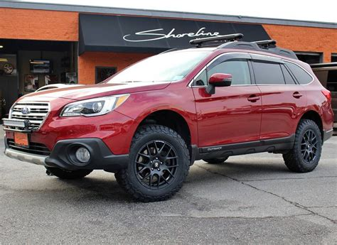 lifted subaru brand subaru model outbackyear 2017couleur red