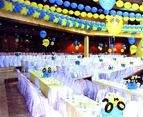 comment decorer une salle des ftes id 233 es de d 233 coration de salle avec des ballons organiser f 234 te et anniversaire