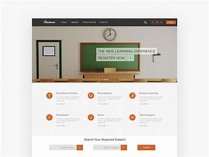 download psd download free psd resources for designers With online education templates free download