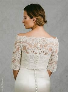 lace bridal bolero lace bolero bridal topper bianca With lace topper for wedding dress