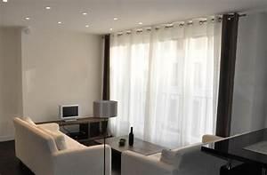 Rideaux Salon Decoration : idee deco rideau salon ~ Preciouscoupons.com Idées de Décoration