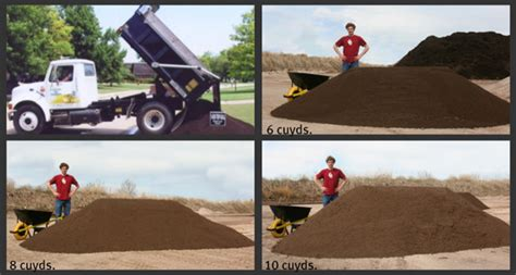 How Many Cubic In A Yard Of Gravel by Bulk Top Soil Bulk Mulch Compost And Manure Murphy
