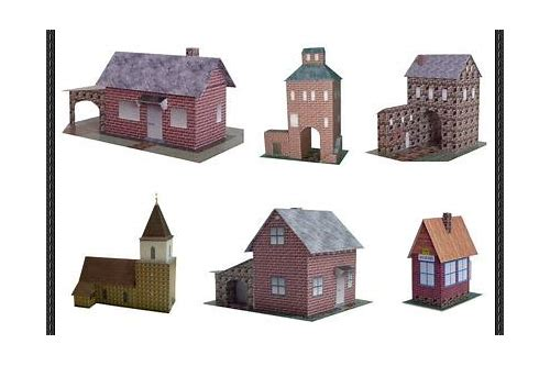 paper models buildings free download