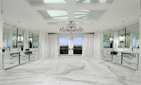 Carrara Marble Bathroom Floor by White Vanity Cabinets For Bathrooms Bianco Carrara Marble