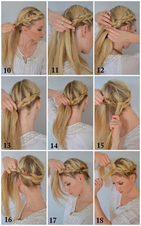 easy diy tutorials  glamorous  cute hairstyle