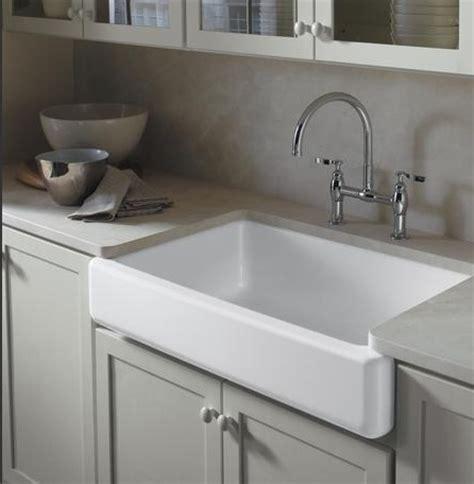 kohler apron front sink retrofit
