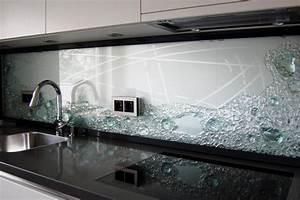 Spiegel Als Küchenrückwand : k chenr ckwand projekte jostmann glasmalerei ~ Michelbontemps.com Haus und Dekorationen