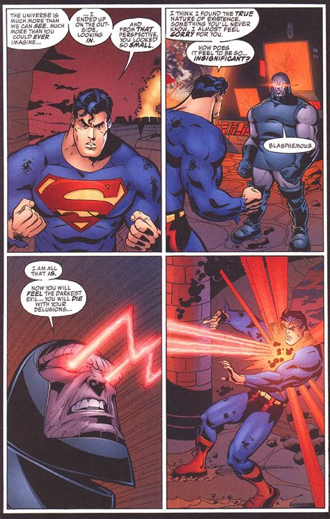 supermans heat vision hold  omega beams gen