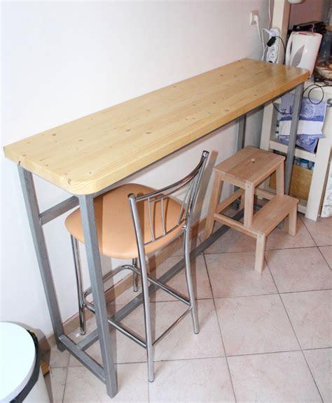 fabriquer une table bar de cuisine création d 39 une table bar cuisine bâtir sa maison à