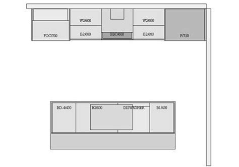 galley kitchen layout these exle kitchen plans will guide you in planning 1161